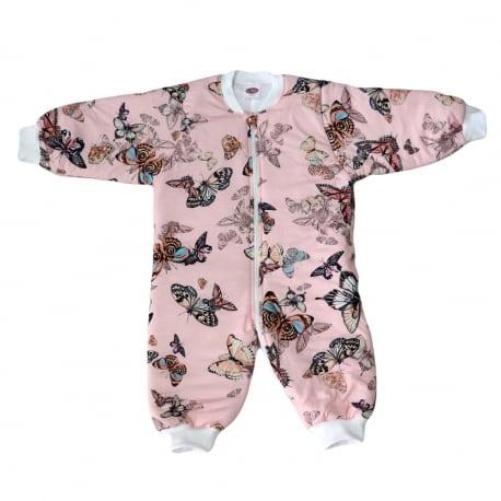 TENDER Υπνόσακος Χειμωνιάτικος 2.5 Tog Πεταλούδες – Ροζ