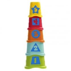 Chicco 2 σε 1 Πυραμίδα με Κυβάκια