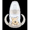 NUK First Choice Μπιμπερό Εκπαίδευσης Disney Winnie the Pooh 150ml με ρύγχος Γκρι