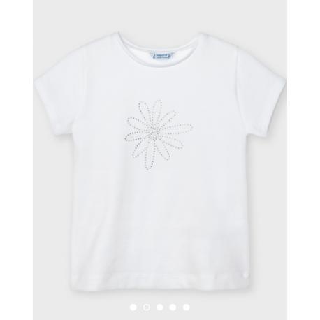 MAYORAL Σετ 2 μπλούζες και βερμούδα