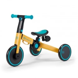 KINDERKRAFT Πτυσόμενο Τρίκυκλο Ποδήλατο 4Trike Primrose Yellow