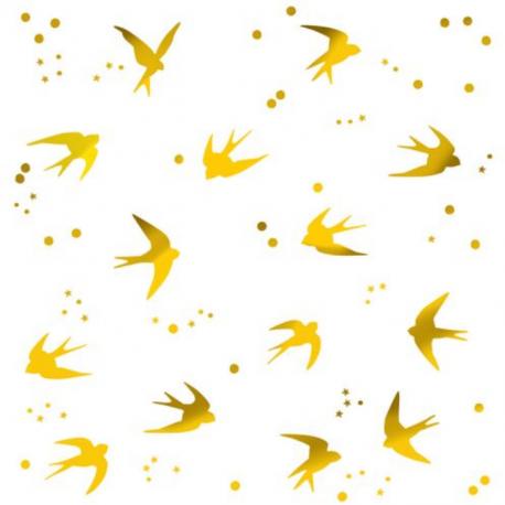 MIMI LOU Αυτοκόλλητα τοίχου Home Swallows