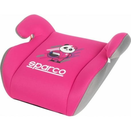 SPARCO Booster 2+3 Pink Grey