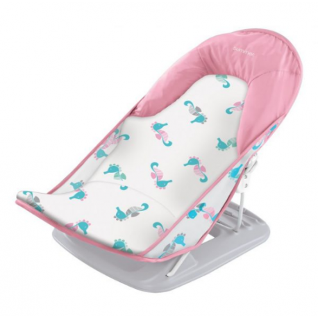 SUMMER INFANT Deluxe Baby Bather-Seahorse ΡΟΖ